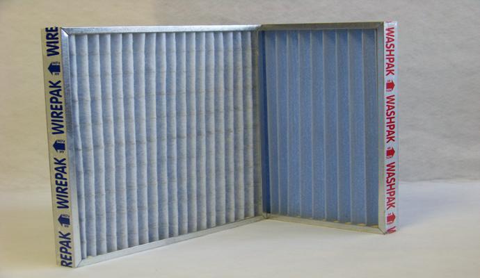 Panel Filters Wirepak W Filtapak