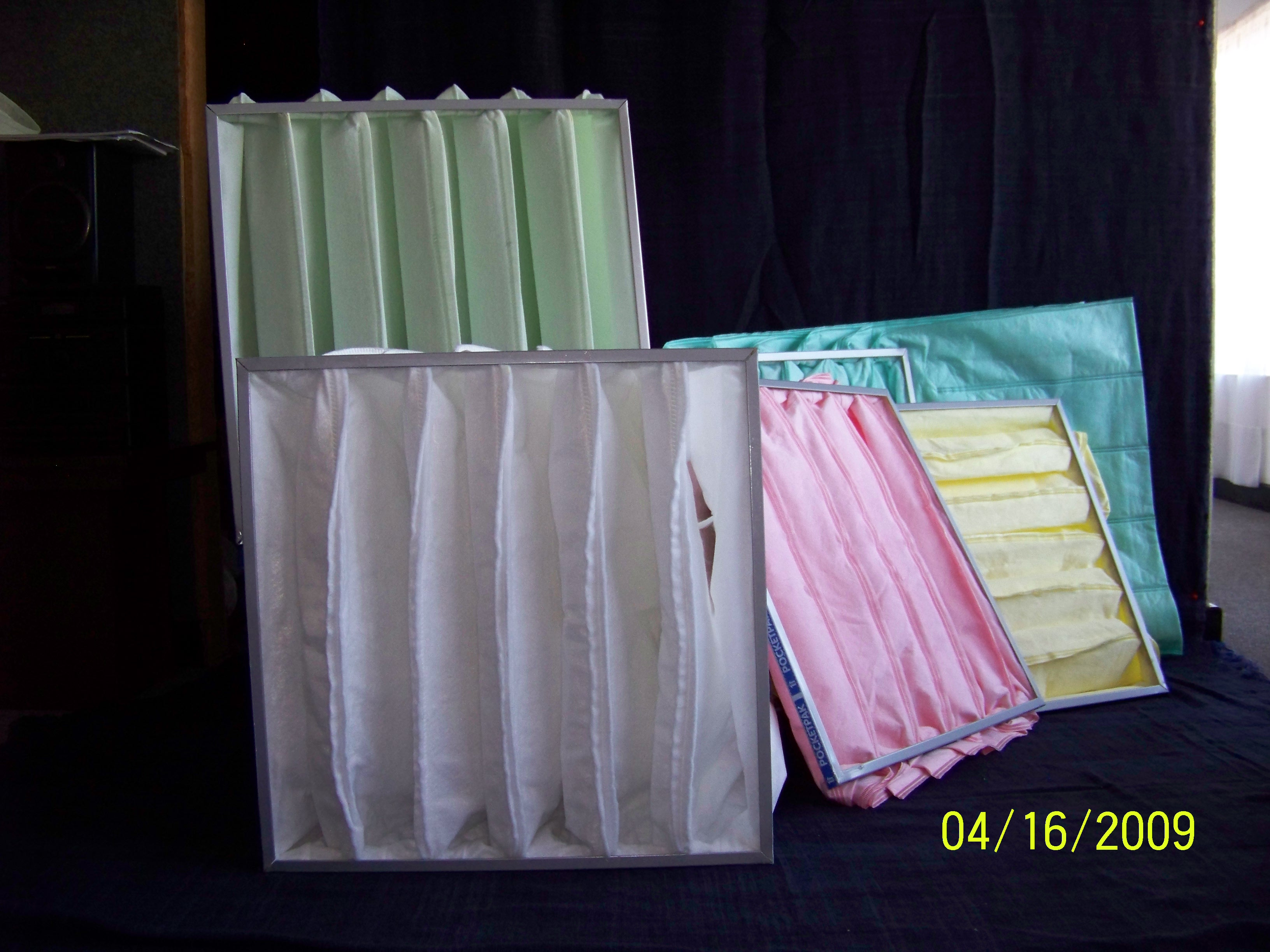 Poket Filters Poket Filters Supplier Filtapak
